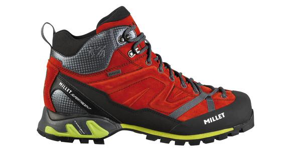 Millet Super Trident GTX - Calzado - negro rojo
